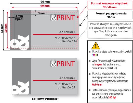Jak przygotować wizytówki do druku cyfrowego